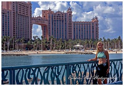 Kristi at Atlantis resort.