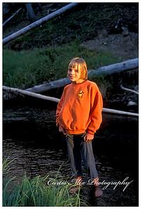 Kelli at Yellowstone.