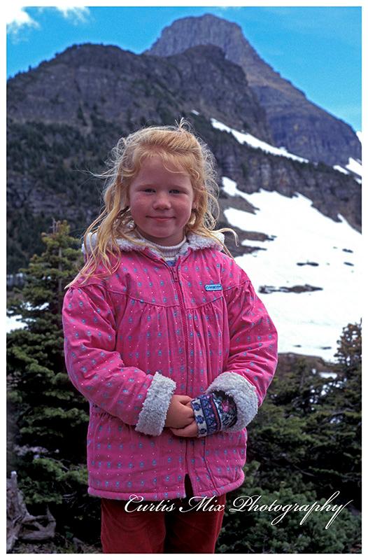Ashley an Glacier N.P.