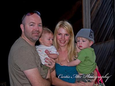 Matt, Kristi, Cody, and Gabe.