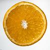 Appelsinskive. Studio.