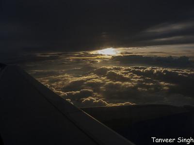 Clouds - Bangalore Delhi end june