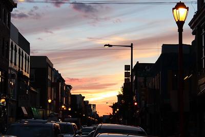 South Street at dusk