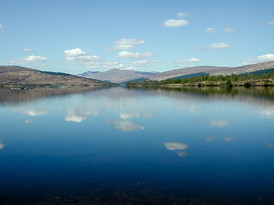 Reflections on Loch Arkaig