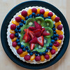 June 10, 2012 <br /> We had some friends over on Sunday and Lorraine made this tart.  I didn't have a chance to post it Sunday night, so I'm doing it Monday morning.  It was very good, I might have some for breakfast.