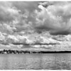 September 27, 2011 :: B&W Clouds <br /> The clouds over the lake yesterday.