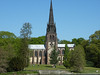 Clumber Chapel was built between 1886 and 1889 and its 180 foot spire provides the backdrop to many a photograph.