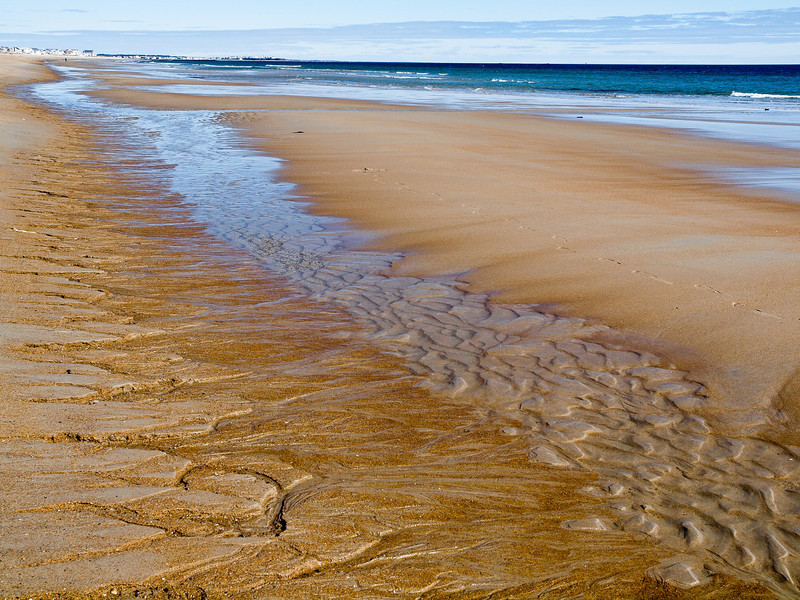 Rivulets at Seabrook Beach, NH