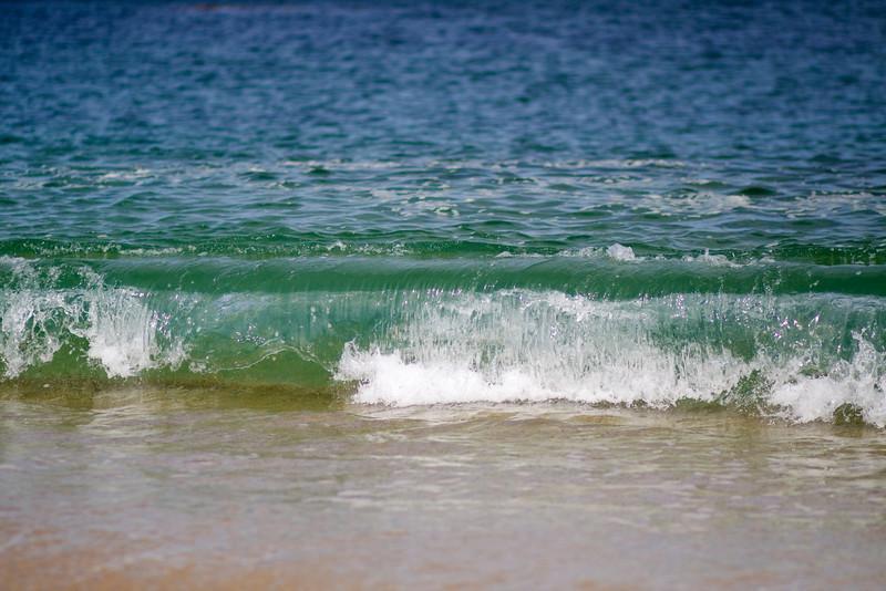 Glassy waves