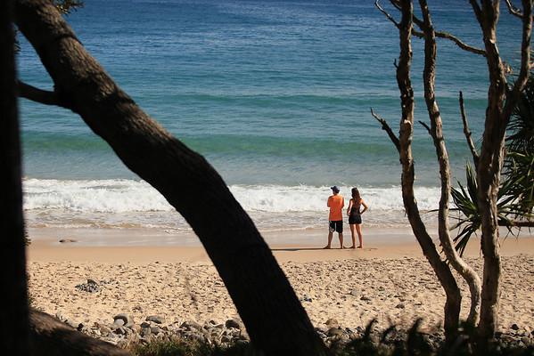 The idyllic Tea Tree Bay - Noosa National Park, Monday 2 November 2009