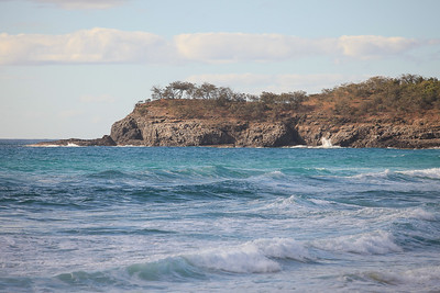 View of Lion Rock & the headland at the southern end of Alexandria Bay - Noosa National Park, Monday 2 November 2009