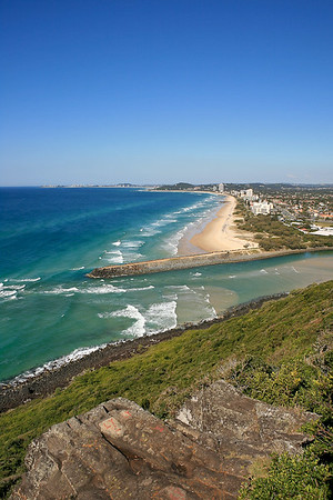 How's this for a winter's day at Burleigh? :) - Burleigh Heads National Park, Gold Coast, Queensland, Australia. Photos by Des Thureson.