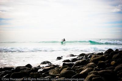 """ET Can Surf"" - (Alternate Processing) - Burleigh Heads, Gold Coast, Queensland, Australia - LR2 Preset: ""Matt's Wedding Fantasy""."