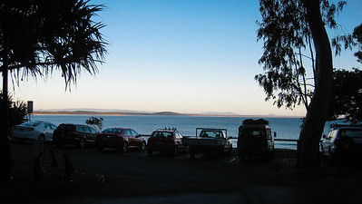 Laguna Bay, Noosa Heads at 7AM on a beautiful Winter's morning, at the main entrance to Noosa National Park - Flowers, Trees & Landscapes - Noosa National Park. Point and Shoot Camera pics.