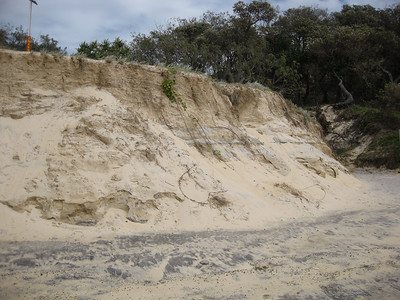 Alexandria Bay erosion damage - Point & Shoot Camera - Noosa National Park - Birds & Surfing, 19 March 2013. Photos (on a point & shoot camera) by Des Thureson  - disci.smugmug.com.