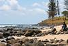 Burleigh Heads, Gold Coast - Surfing & National Park, 16 December 2009