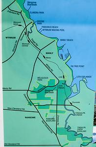 Map - Information - Wynnum Mangrove Boardwalk & Wynnum North Reserve; Wynnum North, Brisbane, Queensland, Australia; 17 October 2012. Photos by Des Thureson