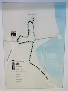 Wynnum North Reserve Circuit - Map - Information - Wynnum Mangrove Boardwalk & Wynnum North Reserve; Wynnum North, Brisbane, Queensland, Australia; 17 October 2012. Photos by Des Thureson