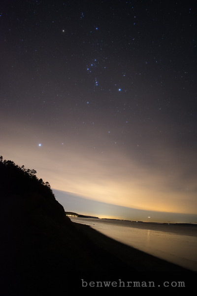 Starry Night on the Coast