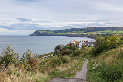 Final view of Robin Hoods Bay