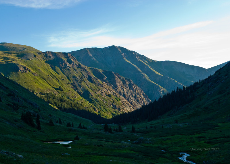 American Basin, Colorado. American basin is in the Colorado high country between Lake City and Silverton. Access is by high clearence four wheel drive