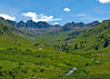 American Basin, Colorado.  American basin is in the Colorado high country between Lake City and Silverton.  Access is by high clearence four wheel drive.