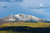 Mt Sopris is located in the northwest Elk Mountains in Western Colorado and has twin 12,965 foot peaks.