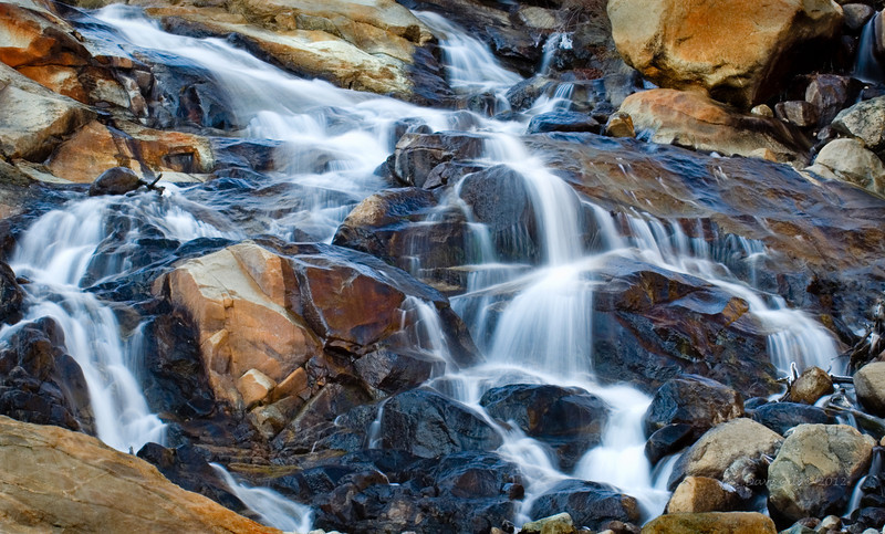 Horseshoe Falls in Rocky Moutain National Park