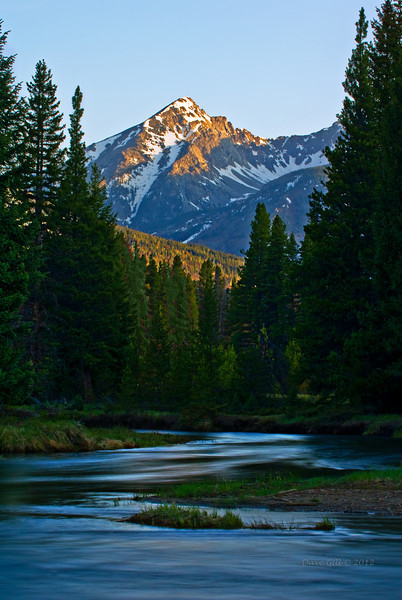 Colorado River headwaters in Rocky Mountain National Park, Colorado.