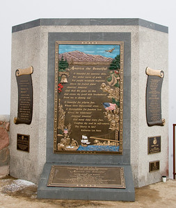 The song America the Beautiful was inspired in part by a trip up Pikes Peak.  There is a beautiful set of plaques commemorating that at the peak.