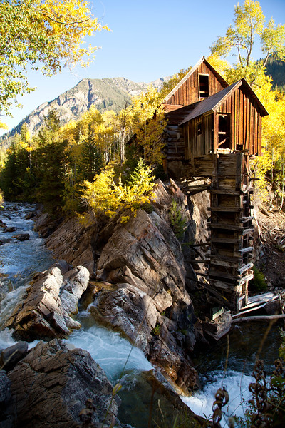 The Crystal Power Plant, built in the late 1800s.  I looked for this old mill for years and only recently found it.  The alledged jeep trail in to this area was several miles of a narrow trail and huge boulders.