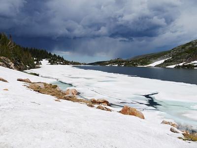 Brainard Lake Recreation Area - Isabelle Glacier Trail