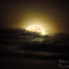 Moon Illuminating Clouds