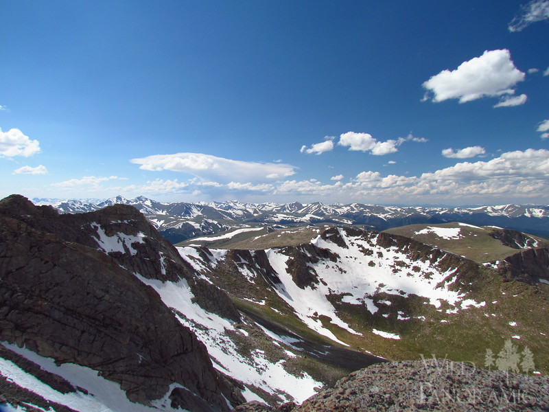 View from Mt Evans