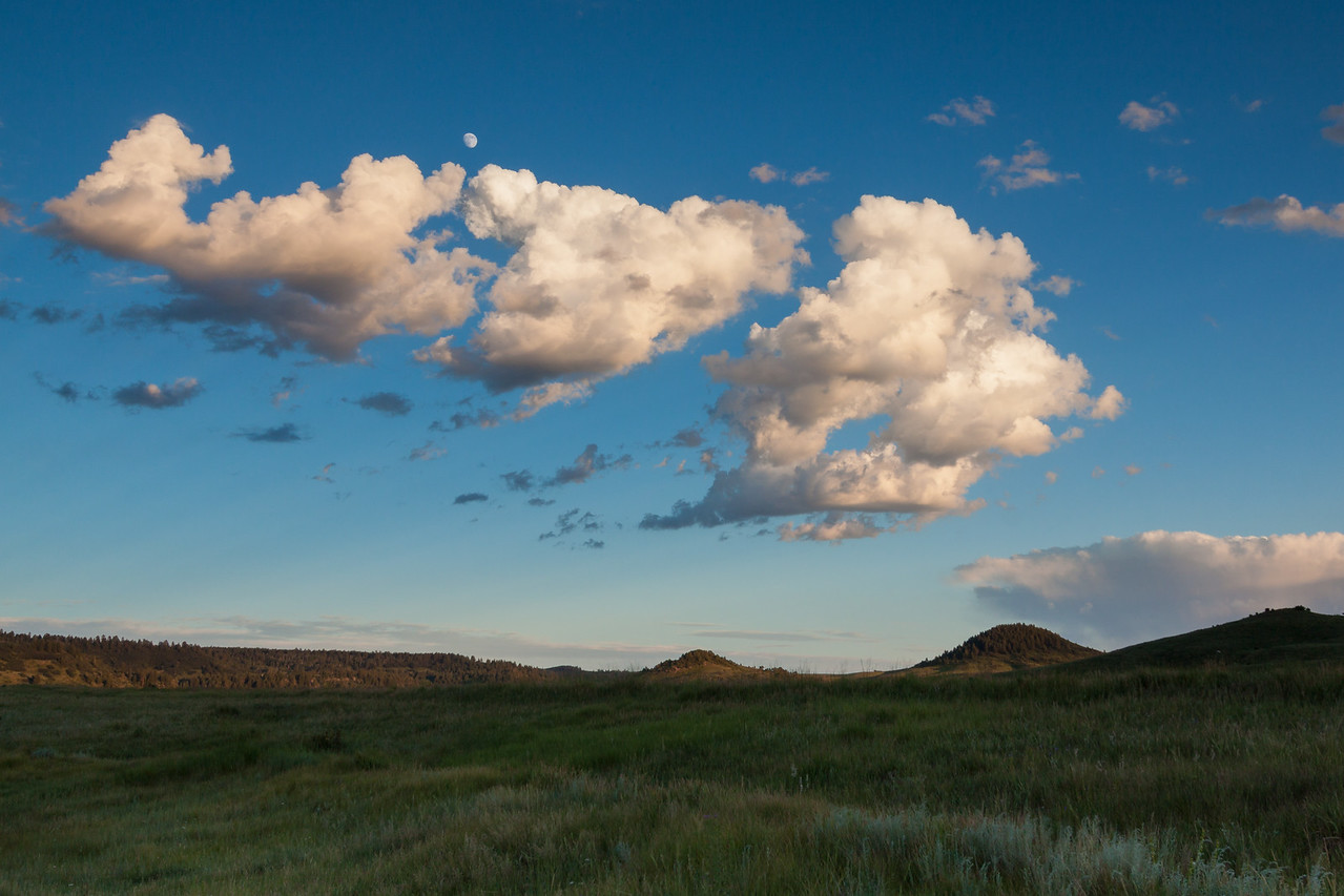 Clouds on Piedra Road