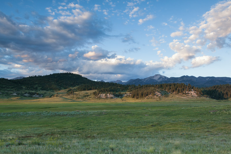 Pagosa Peak Evening