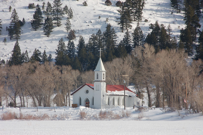 St. Francis Episcopal Church in South Fork, Colorado