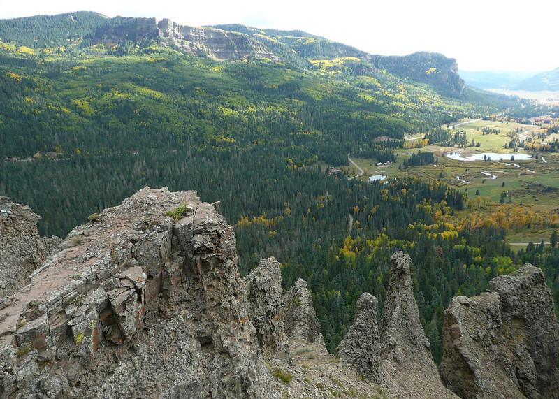 Wolf Creek Pass Scenic Overlook