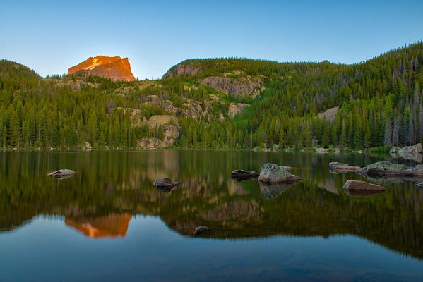 Bear Lake Summer Sunrise