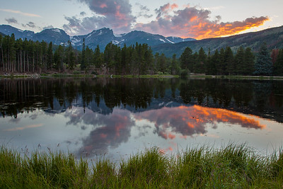 Dusk at Molas Lake
