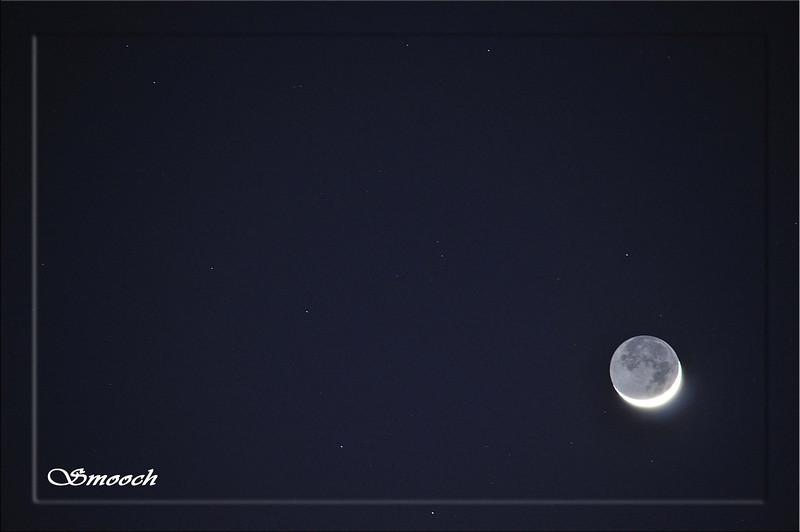 com'è bella la luna stasera...