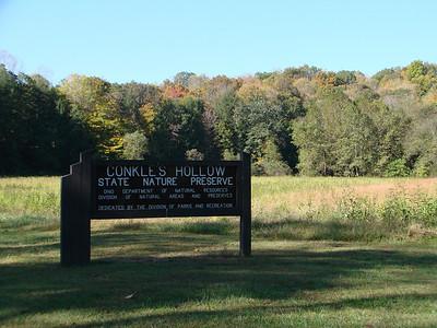 Conkle's Hollow State Nature Preserve, East Rim Logan, Ohio 2010 Oct.