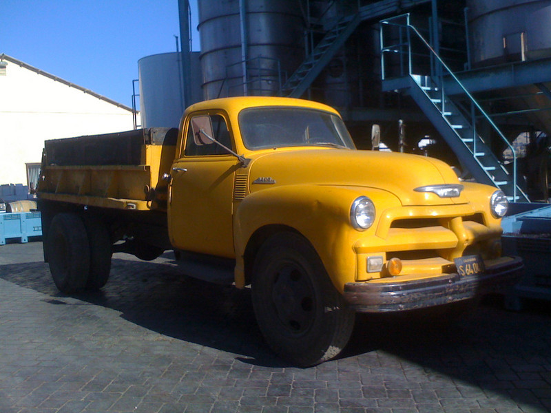 Nice old truck at the Gugliemo Winery in Morgan Hill, CA