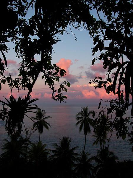 View of the Pacific from Campanario, Osa Peninsula, Costa Rica