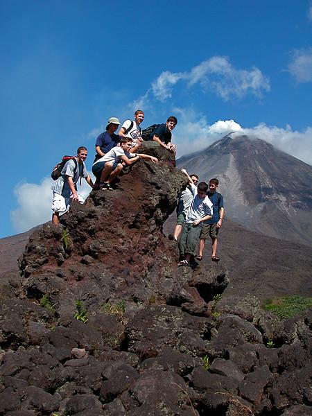 Recent lava field below Volcan Arenal, Costa Rica