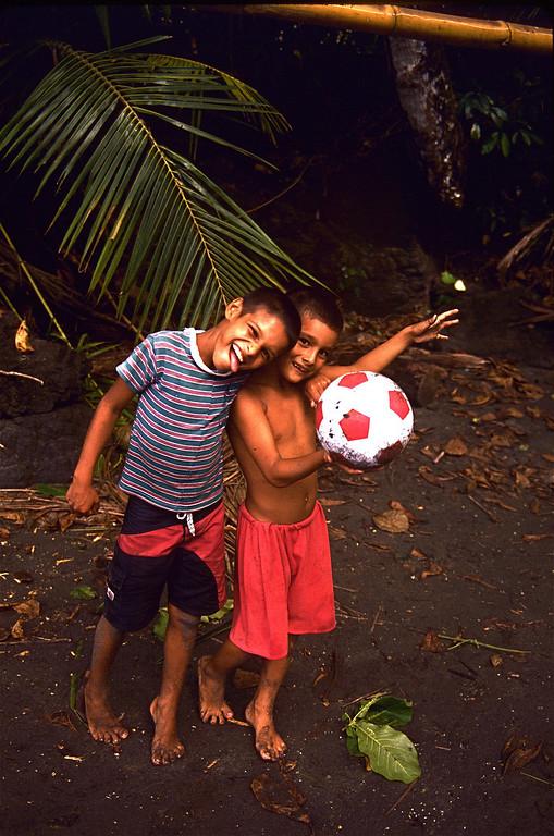 brayan and christian soccer
