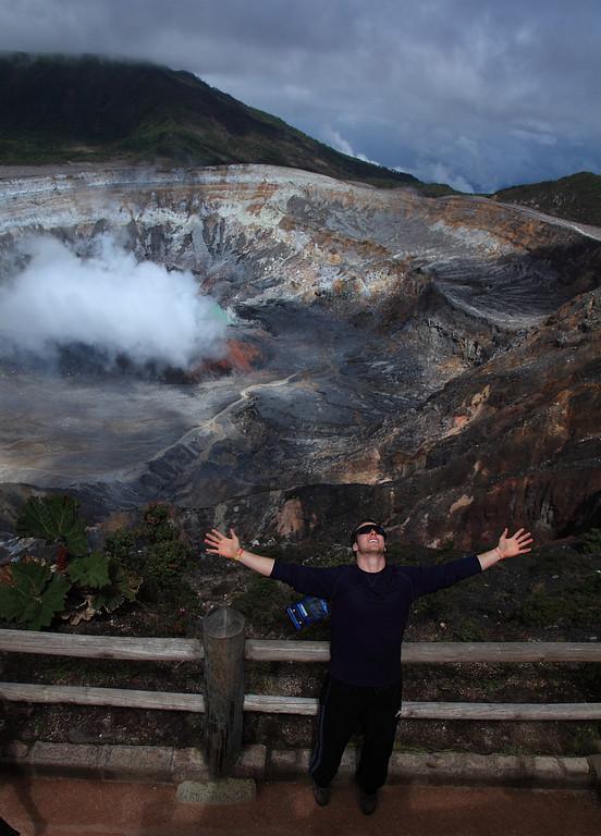 Poas volcano, Volcan Poas, Costa Rica