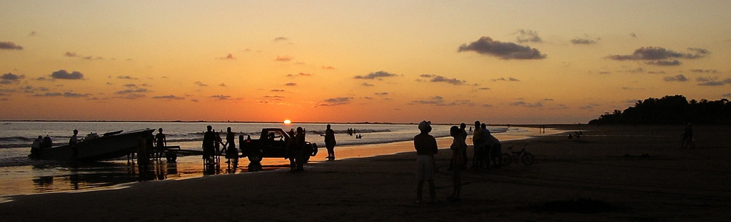New year's day sunset at Uvita, southern coast of Costa Rica.  This is how to start the year off the right way!!