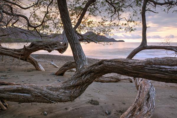 06-12 Sunset @ Playa Matapalo, Costa Rica