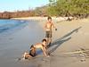 Local kids at Playa Conchal